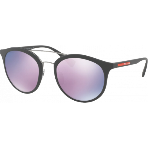 3043818fca32 Prada SPS04R Rubber Grey Grey Pink Mirror - Fashion Designer Sunglasses