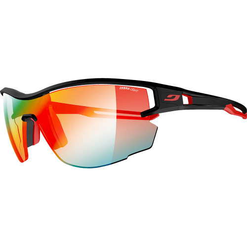 Julbo Aero Noir/Rouge Zebra Light Fire