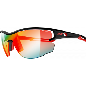 Julbo Aero Black/Red Zebra Light Fire