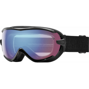 Smith Ski Goggles Virtue Black Blue Sensor Mirror