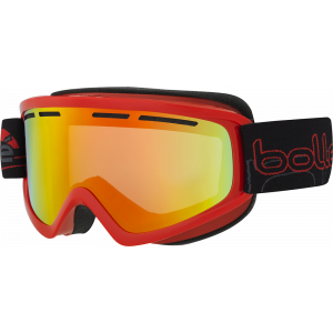 Bolle Ski Goggles Schuss Shiny Red Sunrise