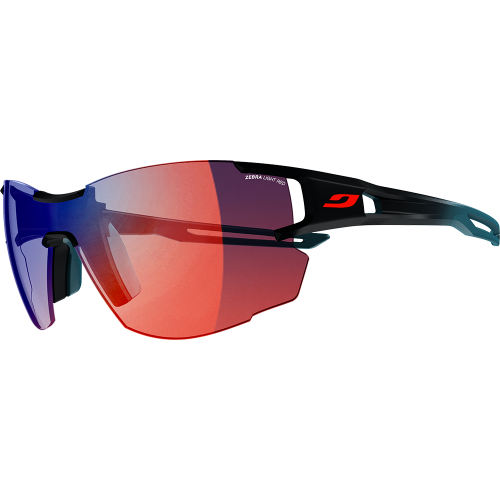 c0030cca4c Julbo Aerolite Dark Blue Blue Zebra Light Red - Julbo Sunglasses