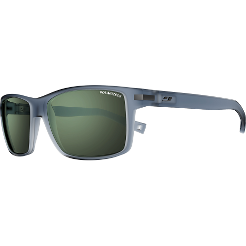 afe99c78cf Julbo Syracuse Matte Translucent Grey Polarized 3 Green - Julbo Sunglasses