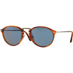 Persol 3046S Medium Reflex Edition Havana Bleu