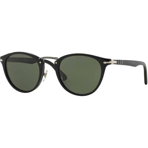 9816a16a33379 Persol 3108S Typewriter Edition Black Green Polarized - Persol Typewriter  Edition
