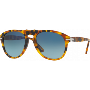 Persol 0649 Small Vintage Celebration Madreterra Bleu Dégradé Polarisé