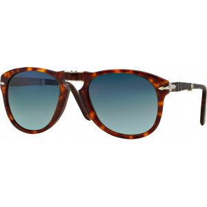 Persol 0714 Steve Mc Queen Havana Blue Gradient Polarized