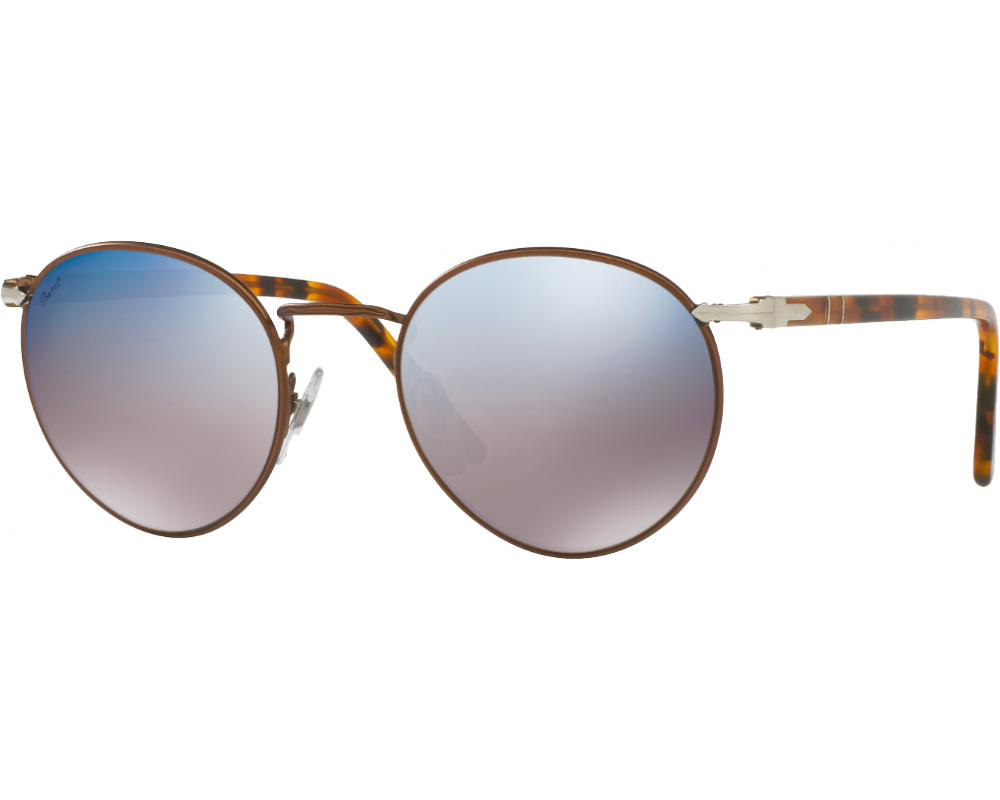 21338d39ca Persol 2388S Brown Grey Mirror Blue - Persol Sunglasses