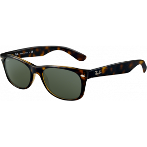 Ray-Ban New Wayfarer Tortoise Green Polarized