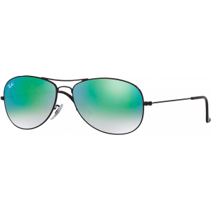 Ray-Ban Cockpit Black Green Gradient Mirror
