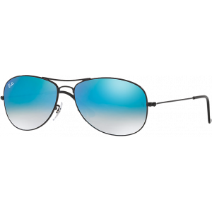 Ray-Ban Cockpit Black Blue Gradient Mirror