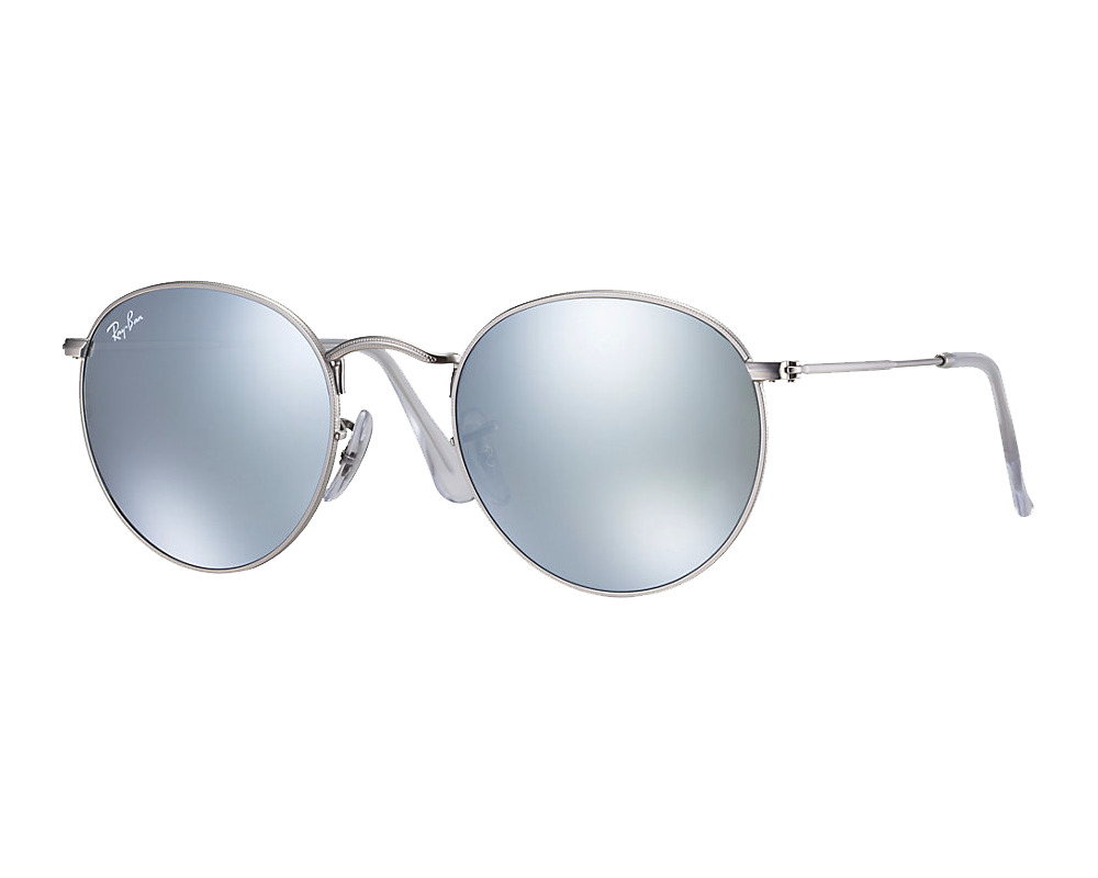 Ray Ban Round Metal Silver Green Silver Mirror Ray Ban Icons