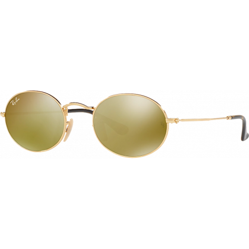 f76df5ce32 Ray-Ban Oval Flat Gold Mirror Gold - Ray-Ban Highstreet
