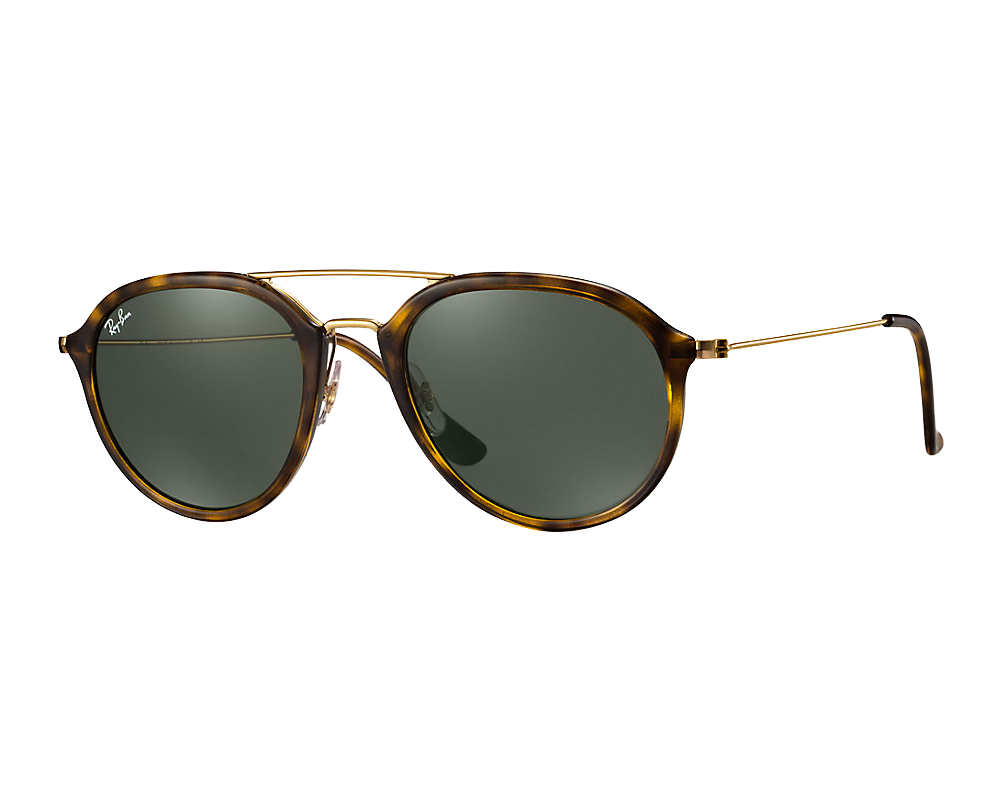 Ray-Ban RB4253 Medium Ecaille/Doré Vert YWoLxoj