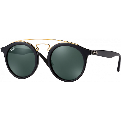 Ray-Ban Gatsby I Medium Noir Brillant/Doré Vert