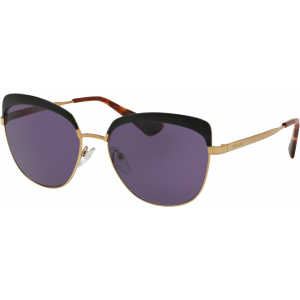 Prada SPR51T Antique Gold/Black Violet