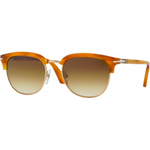 Persol 3105S Cellor Stripped Brown Brown Gradient