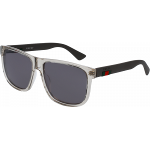 Gucci 0010/S Transparent/Brun Gris