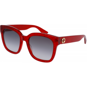 Gucci 0034/S Red Grey Gradient