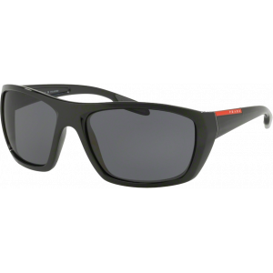 Prada SPS06S Black Grey Polarized