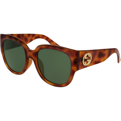 e13e2aba7fc Gucci 0142 SA Havana Green Gradient - Fashion Designer Sunglasses