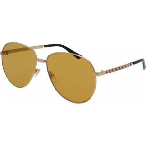 Gucci 0138/S Gold Brown