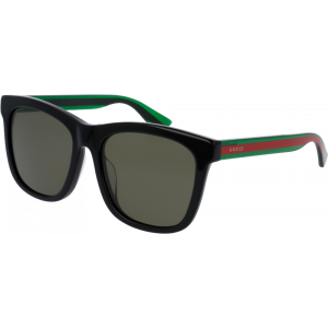 Gucci 0057/SK Black/Green/Red Green