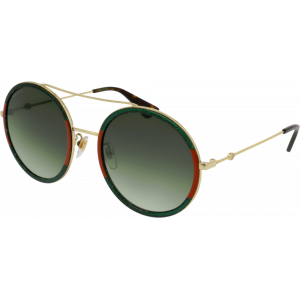 Gucci 0061/S Green/Red/Gold Green Gradient