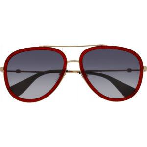 Gucci 0062/S Red/Gold Blue Gradient