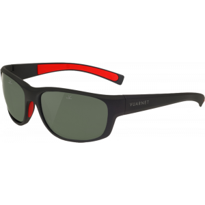 Vuarnet Cup Large Matte Grey/Red Grey Polarized