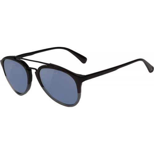 47258f7df3f Vuarnet Pilot Cable Car Black Gey+Shiny Black Blue Polarized - EyeShop