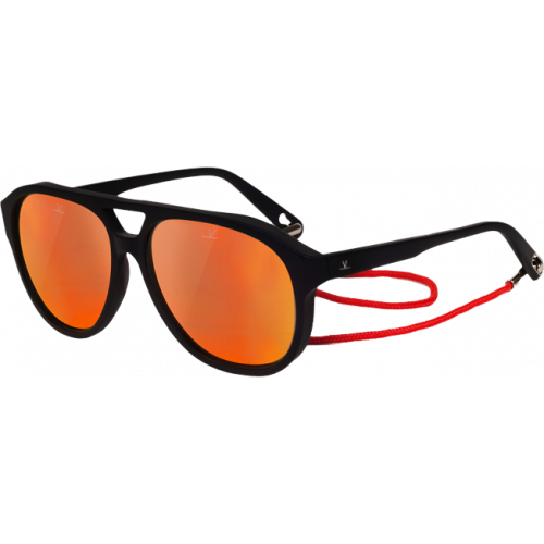 Vuarnet VL1607 Horizon Pilote Noir Pure Blue Red Flash