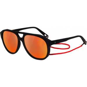 Vuarnet VL1607 Horizon Pilot Black Pure Blue Red Flash
