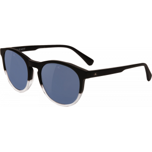 Vuarnet District 1616 Matte Black/Transparent Grey Blue Polarized