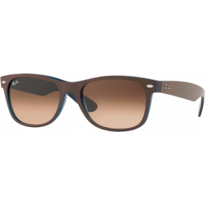 Ray-Ban New Wayfarer Large Chocolat Brun Dégradé