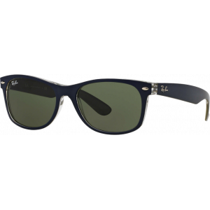 Ray-Ban New Wayfarer Matte Blue/Green G-15 XLT