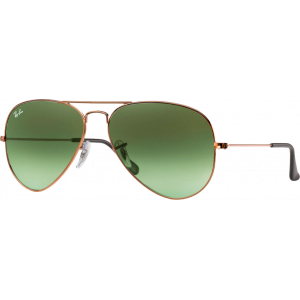 Ray-Ban Aviator Gradient Large Bronze Vert Dégradé