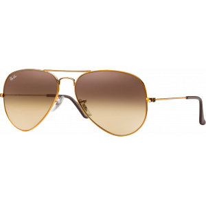 Ray-Ban Aviator Gradient Bronze Rose Dégradé Brun