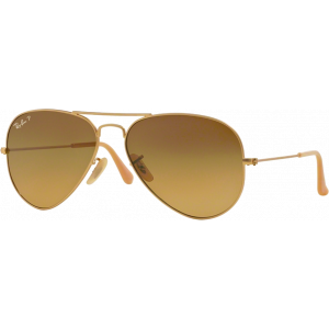 Ray-Ban Aviator Large Gold Brown Polarized