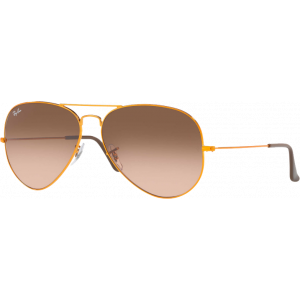 Ray-Ban Aviator Large II Bronze Rose Dégradé Brun