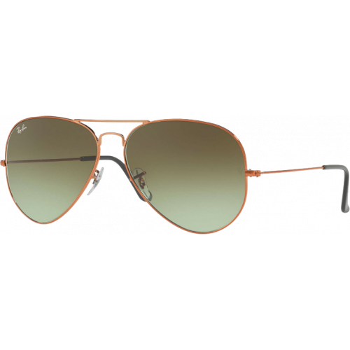 Ray-Ban Aviator Large II Bronze Vert Dégradé