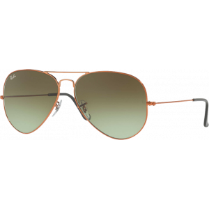 Ray-Ban Aviator Large II Bronze Green Gradient