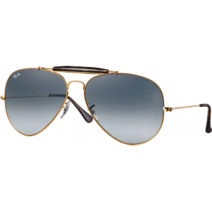 Ray-Ban Outdoorsman II Bronze Gris Dégradé