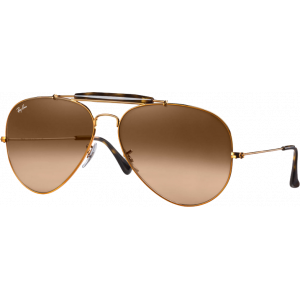 Ray-Ban Outdoorsman II Bronze Rose Dégradé Brun