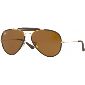 Ray-Ban Craft Outdoorsman Cuir Brun B-15 XLT