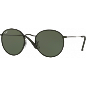 Ray-Ban Round Craft Cuir Noir G-15