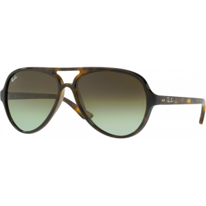 Ray-Ban Cats 5000 Havana Green Gradient