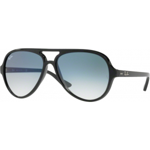 Ray-Ban Cats 5000 Shiny Black Blue Gradient