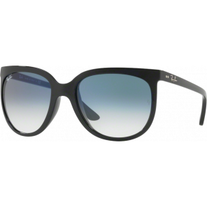 Ray-Ban Cats 1000 Shiny Black Blue Gradient