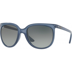Ray-Ban Cats 1000 Light Blue Transparent Grey Gradient